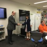 Students receive Writing Portfolio Awards