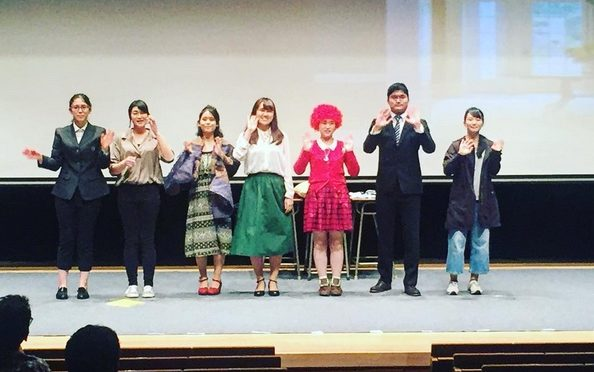 Chukyo ESS Takes Second Prize in Drama Contest
